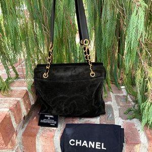 Stylish CHANEL CC Coco Chain Bag Auth Card Serial#